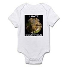 Squirrel/Scope Infant Bodysuit