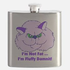 I'm Not Fat Damnit Flask
