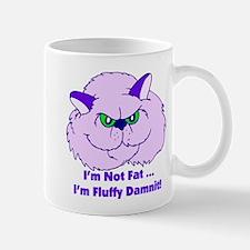 I'm Not Fat Damnit Mug