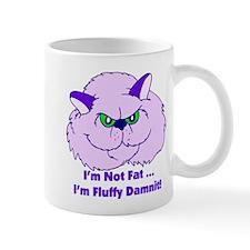 I'm Not Fat Damnit Small Mug
