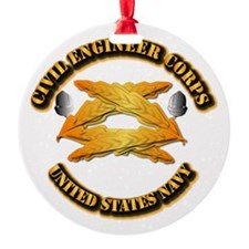 Navy - Civil Engineer Corps Ornament