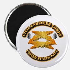 Navy - Civil Engineer Corps Magnet