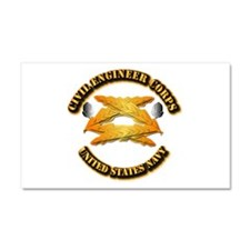 Navy - Civil Engineer Corps Car Magnet 20 x 12