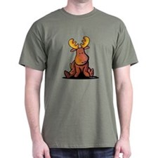 KiniArt Moose T-Shirt