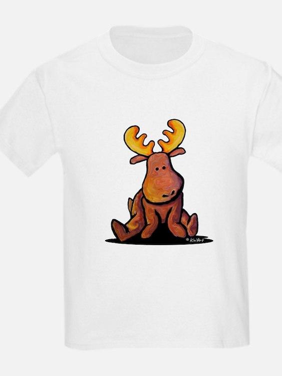 KiniArt Moose T-Shirt