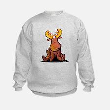 KiniArt Moose Sweatshirt