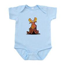 KiniArt Moose Infant Bodysuit