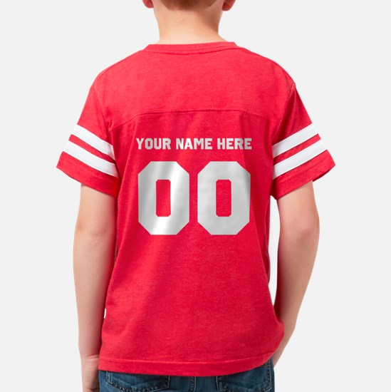 Lil Sis Personalized Youth Football Shirt