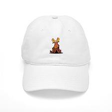 KiniArt Moose Baseball Cap