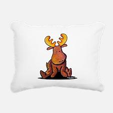 KiniArt Moose Rectangular Canvas Pillow