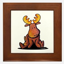 KiniArt Moose Framed Tile