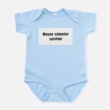 Mayan Calendar Survivor (II) Infant Bodysuit