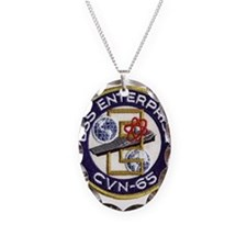 USS Enterprise CVN 65 Necklace