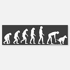 Rise of Dog Owner Dark Bumper Bumper Bumper Sticker