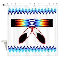 NATIVE AMERICAN SHOWER CURTAIN Shower Curtain