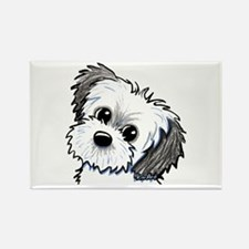 Shih Tzu Sweetie Rectangle Magnet