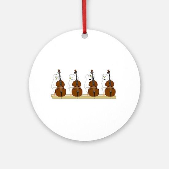 Bass Quartet Ornament (Round)