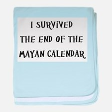 I Survived The End Of The Mayan Calendar baby blan