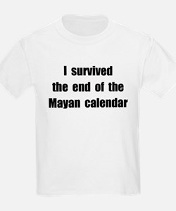 I Survived The End Of The Mayan Calendar (II) T-Shirt