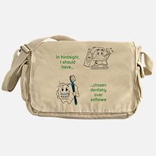 Dentistry Over Software Messenger Bag