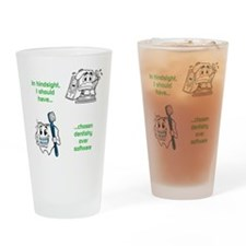 Dentistry Over Software Drinking Glass