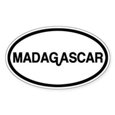 Madagascar Decal