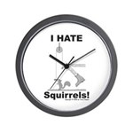 Boot the Squirrel Wall Clock