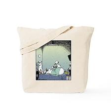 Snow Woman Boob job Tote Bag