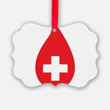 Donate Blood Ornament