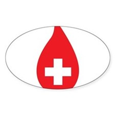 Donate Blood Decal