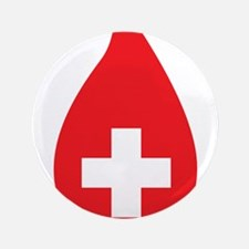 """Donate Blood 3.5"""" Button"""