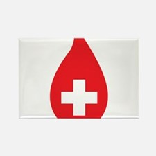 Donate Blood Rectangle Magnet