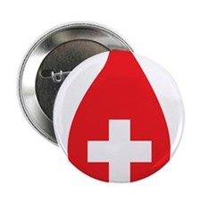 """Donate Blood 2.25"""" Button (10 pack)"""