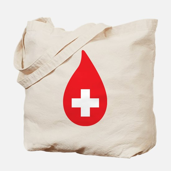 Donate Blood Tote Bag