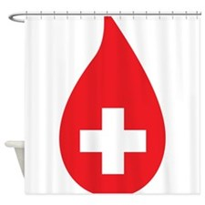Donate Blood Shower Curtain