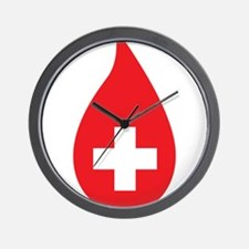 Donate Blood Wall Clock