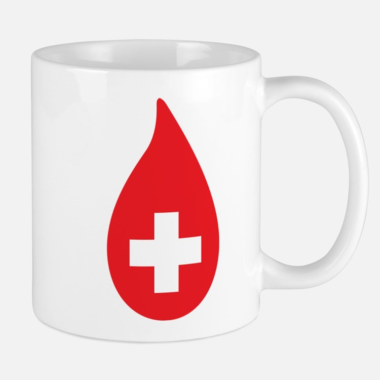 Donate Blood Mug