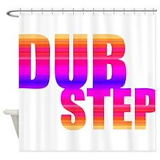 DubStep Shower Curtain