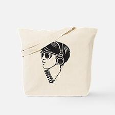 Dubstep Girl Tote Bag