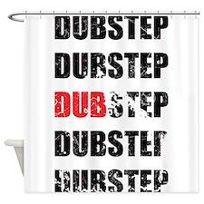 Dubstep (Textured) Shower Curtain