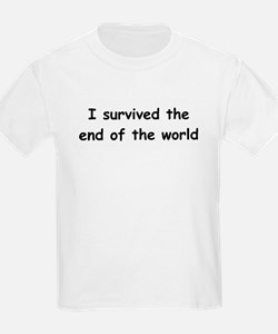 I Survived The End Of The World (III) T-Shirt