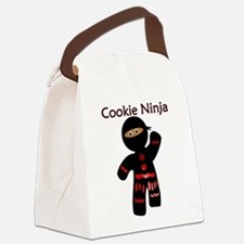 Cute Ninja kids Canvas Lunch Bag