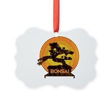 Bonsai Retro Ornament