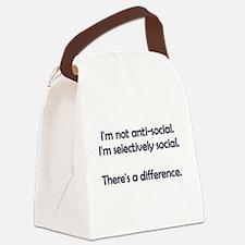 I'm not anti-social. I'm selectively social. Canva