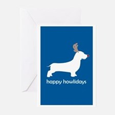 "W. Doxie ""Happy Howlidays"" Greeting Cards (Package"