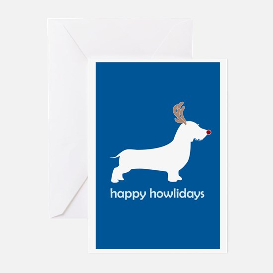 """W. Doxie """"Happy Howlidays"""" Greeting Cards (Package"""