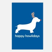 "W. Doxie ""Happy Howlidays"" Postcards (Package of 8"