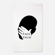 Face Palm 3'x5' Area Rug