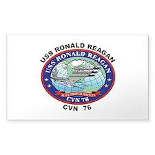 CVN 76 USS Ronald Reagan Decal