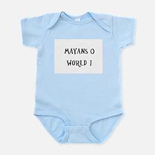Mayans 0 / World 1 Infant Bodysuit